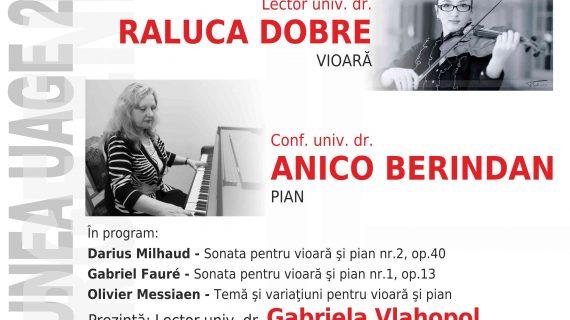 Recital de muzică franceză