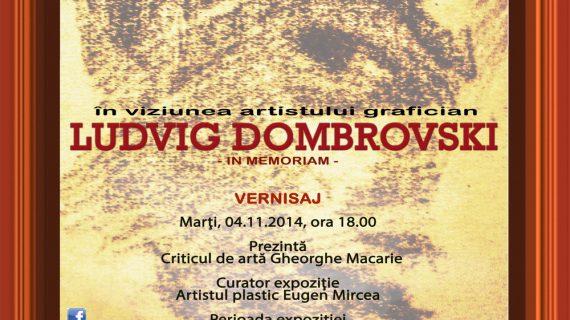 """Expoziția cu vernisaj  """"File de poveste"""" in memoriam Ludvig Dombrovski"""