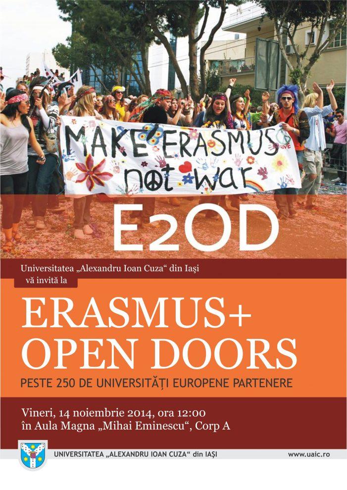 Totul despre Erasmus+