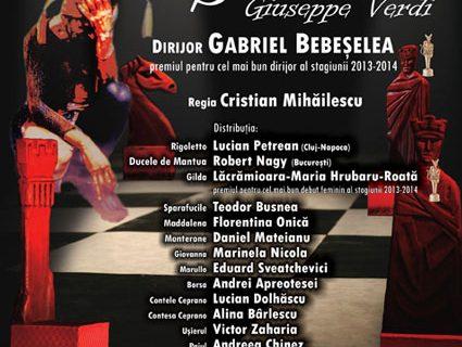 """Spectacolul """"Rigoletto"""", din nou pe scena Operei ieșene"""