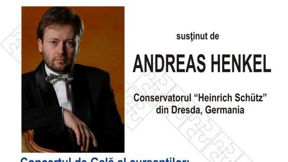 Pianistul german Andreas Henkel, din nou la Iaşi