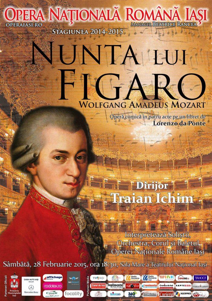 """""""Nunta lui Figaro"""" la Opera Națională Română din Iași"""