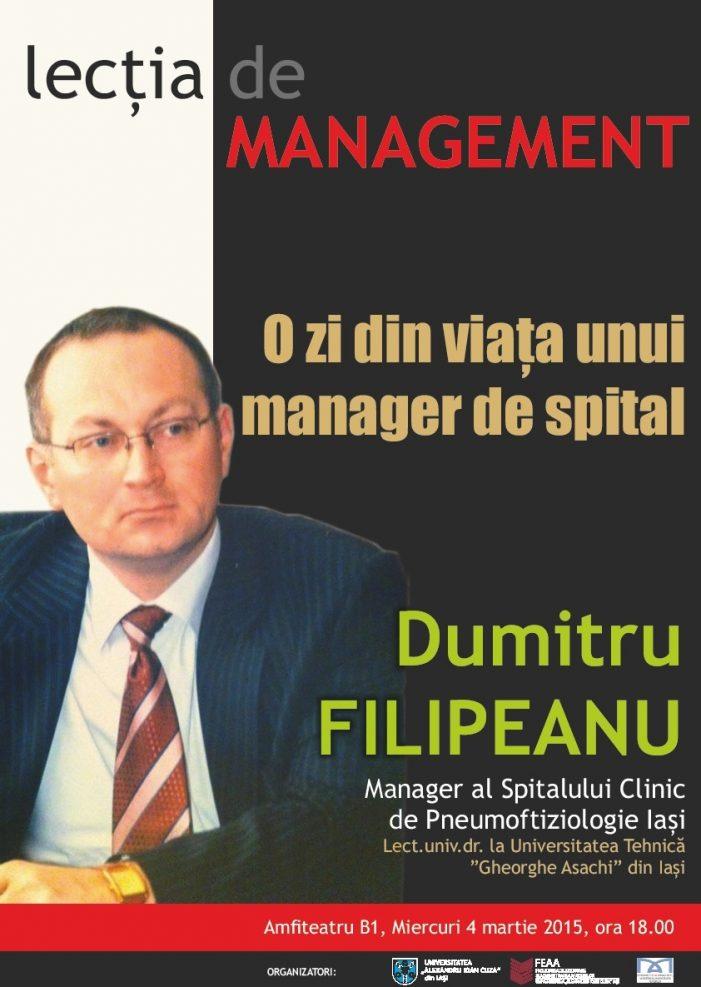 Lecția de Management, ediția a III-a