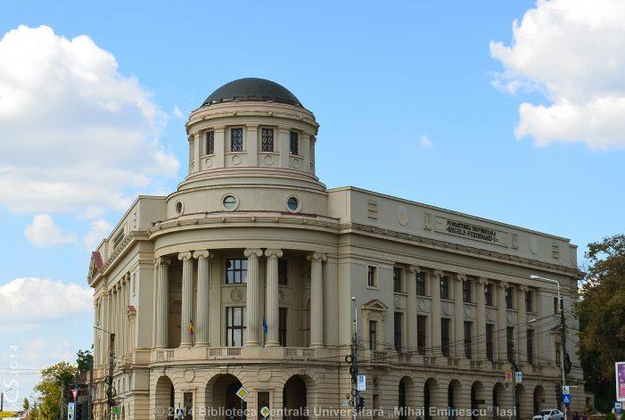 """Oportunitate de internship la Biblioteca Centrală Universitară """"Mihai Eminescu"""" Iași"""