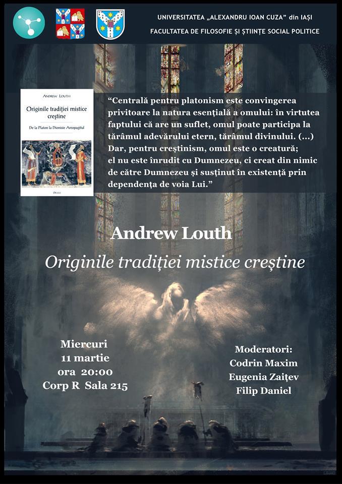 Dialogul Interdisciplinar CONEXIONIS continuă cu Originile tradiției mistice creștine