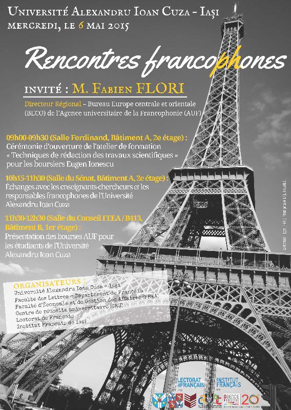 Întîlniri francofone