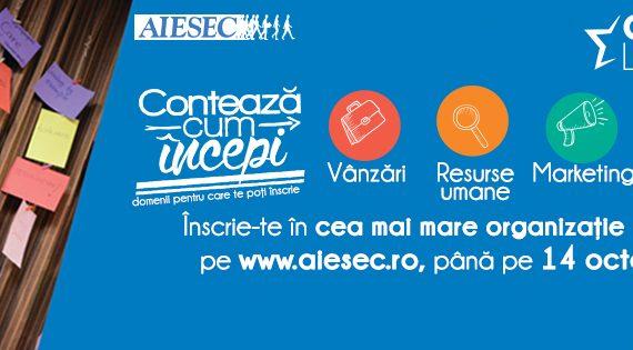 AIESEC Iaşi recrutează!