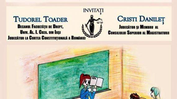 Facultatea de Drept se implică în educația juridică a elevilor