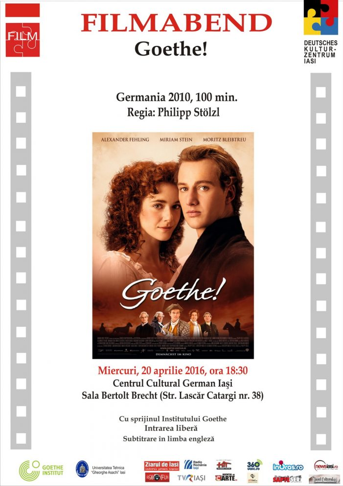 Seara de film german – Goethe! (Germania 2010)