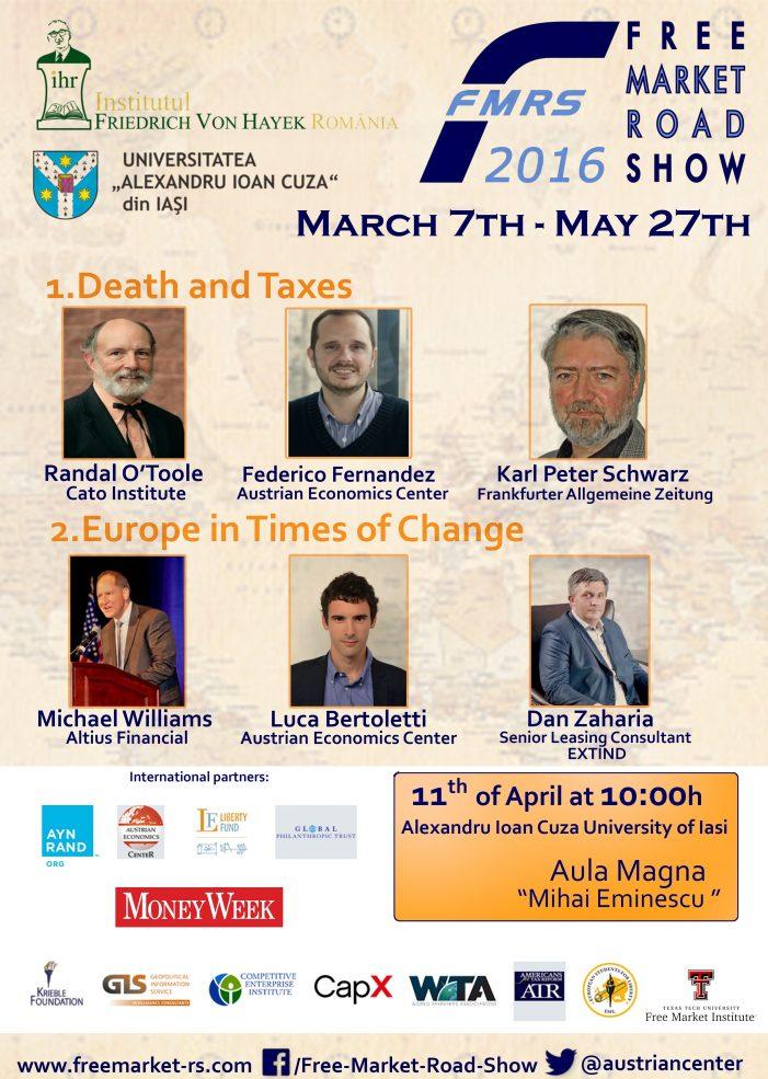 """Conferinţa """"Free Market Road Show"""""""