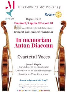 In memoriam Anton Diaconu