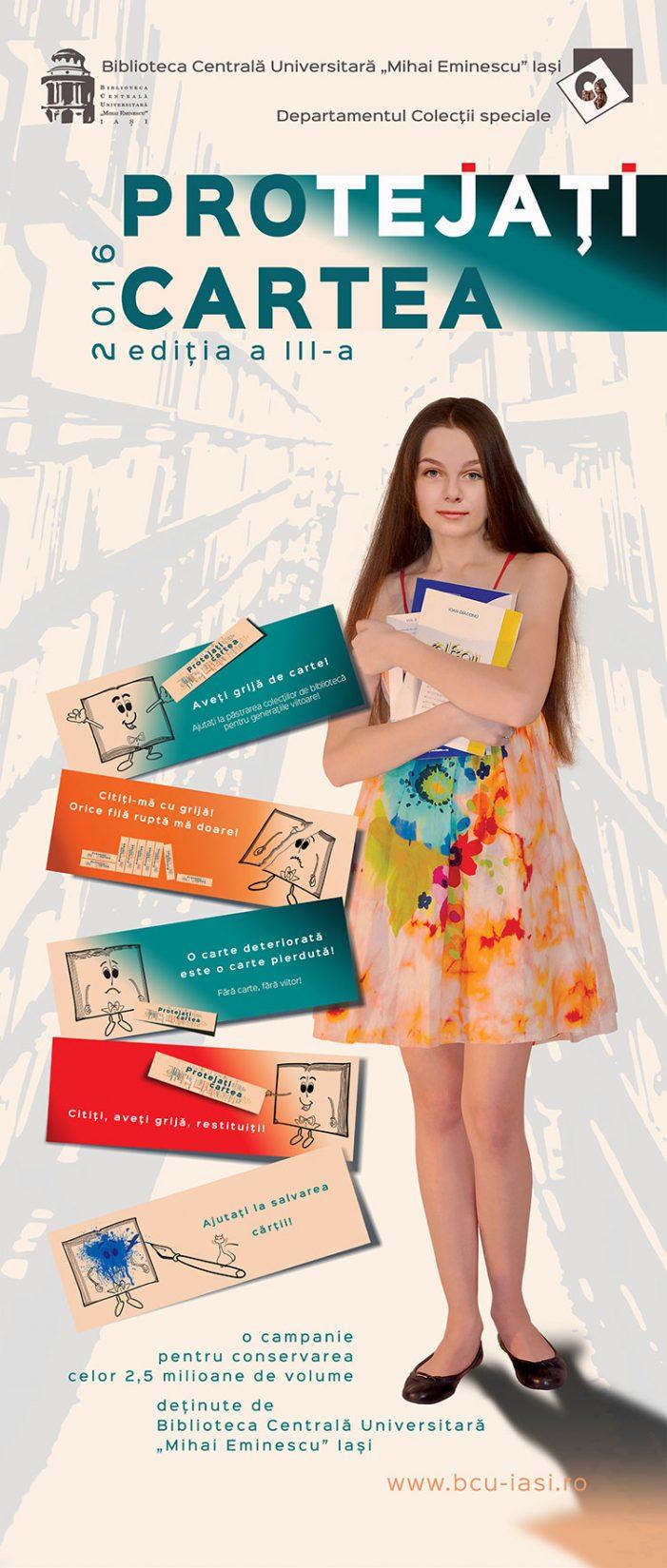 """Biblioteca Centrală Universitară """"Mihai Eminescu"""" desfășoară campania """"Protejați cartea"""""""