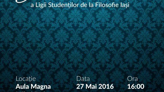 Gala aniversară a Ligii Studenților la Filosofie Iași
