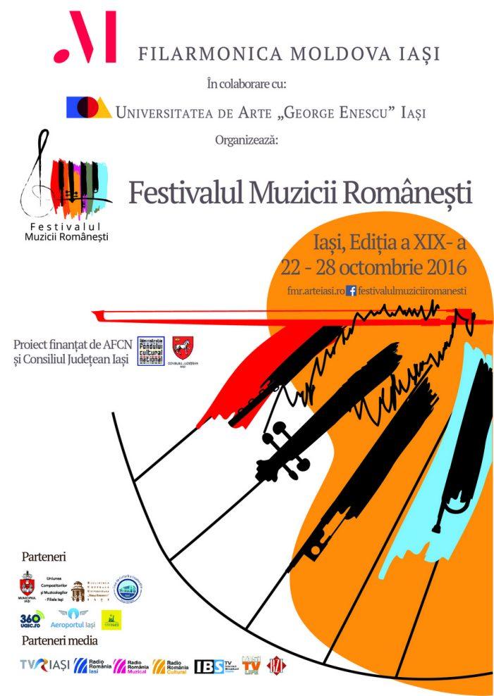 Festivalul Muzicii Românești la Iași