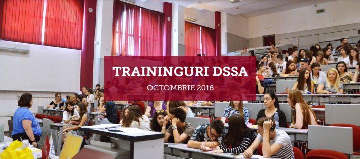 DSSA organizează traininguri gratuite pentru studenți