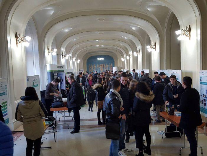 Studenți și profesori de Informatică au prezentat 26 de idei oamenilor de afaceri