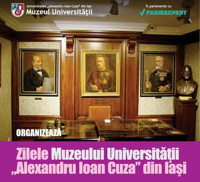 """Corala """"Universitas"""" prezentă la Zilele Muzeului Universității """"Alexandru Ioan Cuza"""" din Iași"""