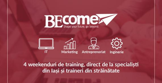 Become: un proiect de training pentru studenți marca AIESEC Iași