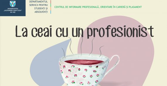 Întâlnește-te la ceai cu un profesionist