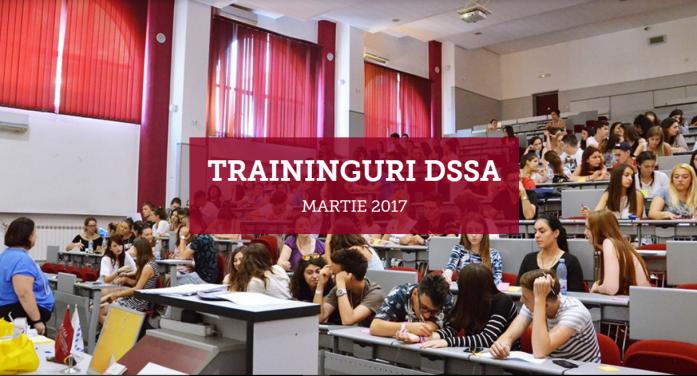 Traininguri gratuite organizate de DSSA pentru studenții UAIC