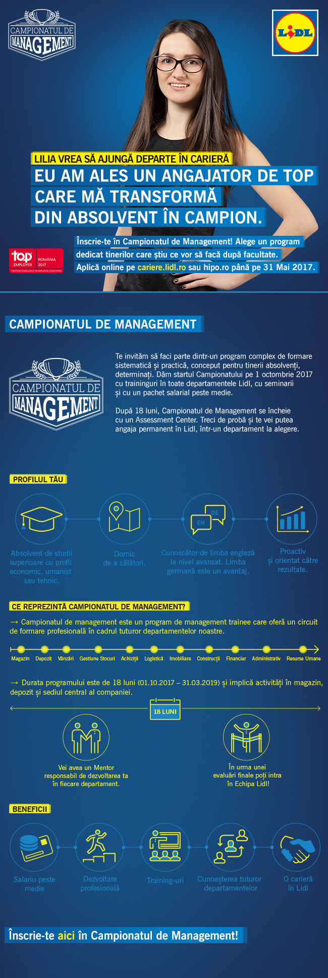 Workshop Lidl – Campionatul de management