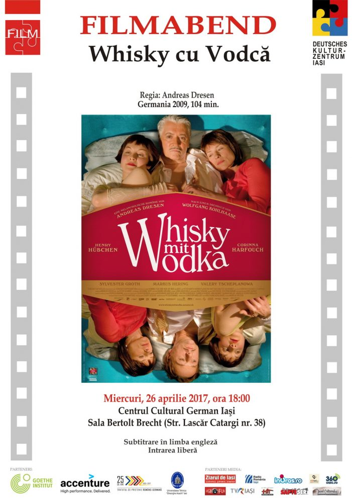 "Seara de film german – ""Whisky cu vodcă"" (Germania 2009)"