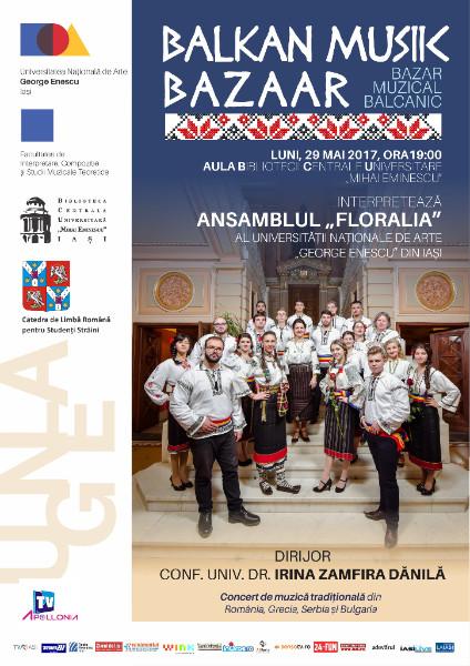 """Ansamblul """"Floralia"""" in concert la BCU"""