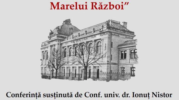 Conferință și lansare de carte la BCU în cadrul FIE Iași