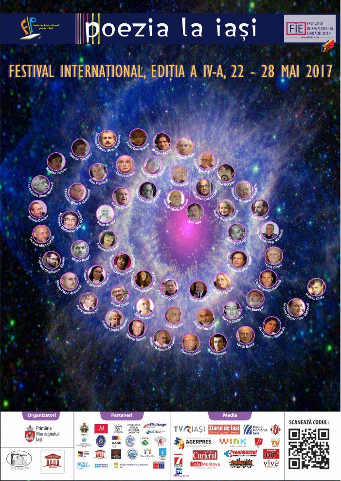"""Festivalul internațional """"Poezia la Iași"""", ediția a IV-a"""