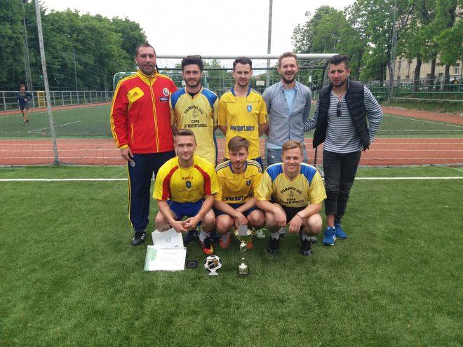 Echipa de fotbal a UAIC, locul I la Concursul Național Sportiv Studențesc