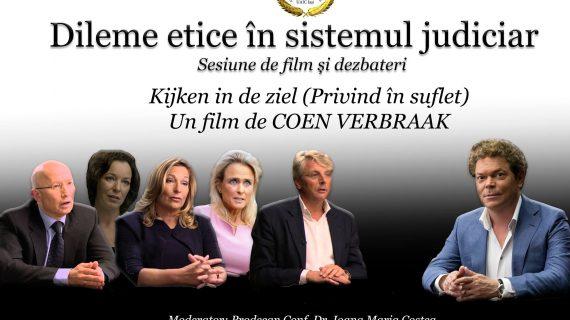 Dileme etice în sistemul judiciar. Film şi dezbateri, ed. a II-a