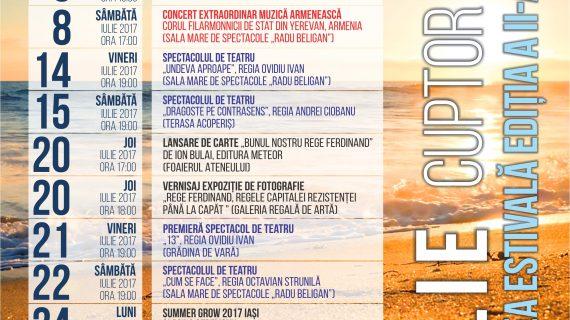 Evenimentele săptămânii 26 iunie – 2 iulie la Ateneul din Iași