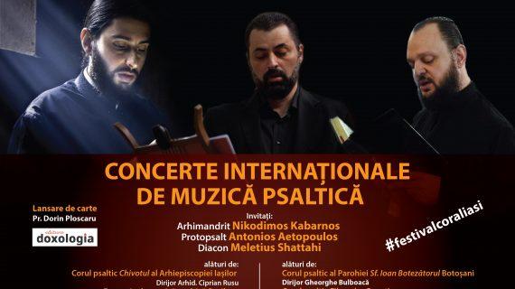 Poezia și muzica psaltică își dau întâlnire în Aula Bibliotecii Centrale Universitare Iași
