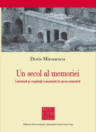 """Volumul """"Un secol al memoriei"""", de Doris Mironescu, premiat la Universitatea """"Babeș-Bolyai"""" din Cluj-Napoca"""