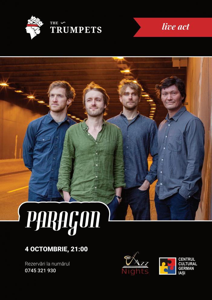 "Jazz live cu trupa germană ""Paragon"""
