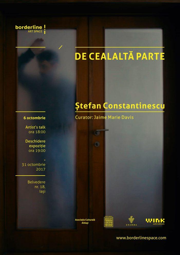 Ștefan Constantinescu la Noaptea Albă a Galeriilor din Iași