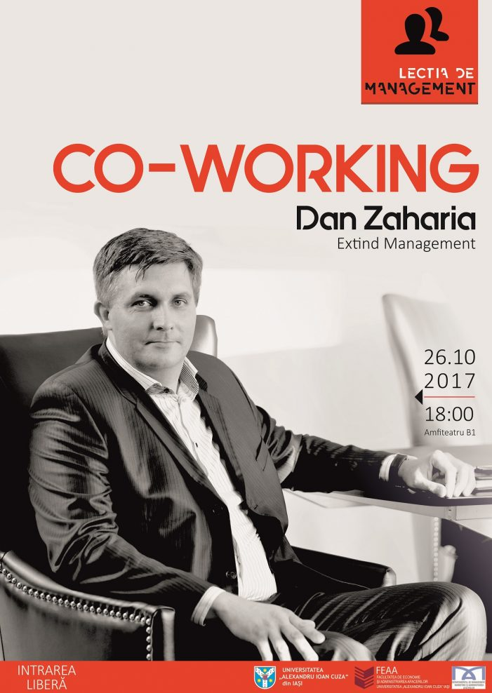 Lecția de management – ediția a XII-a: Co-working