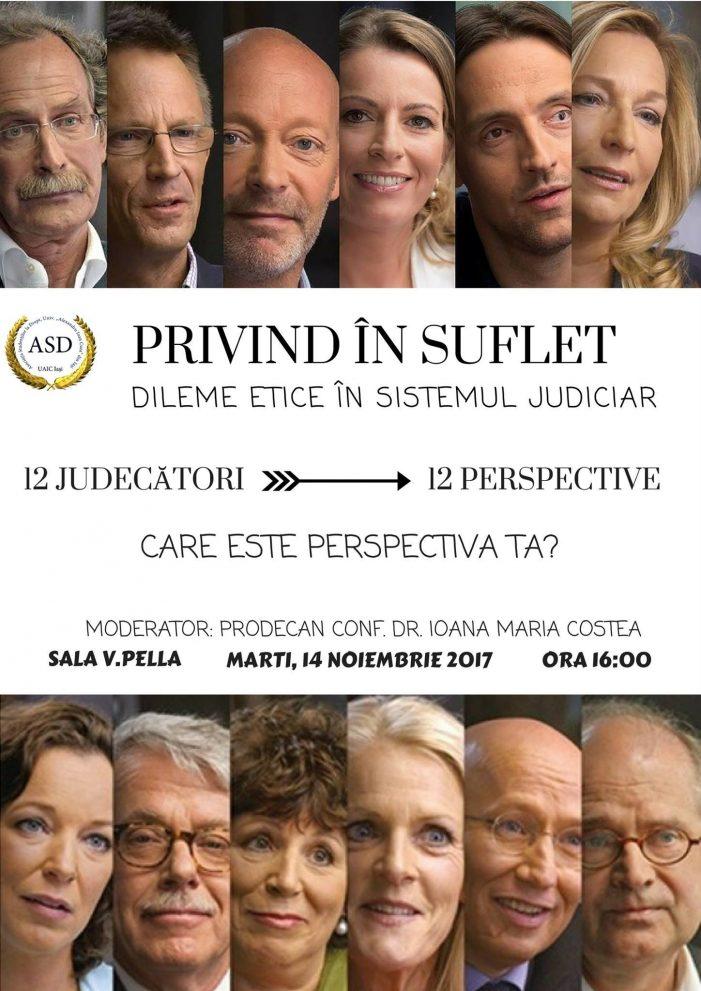 Dileme etice în sistemul judiciar. Film şi dezbateri, ed. a III-a