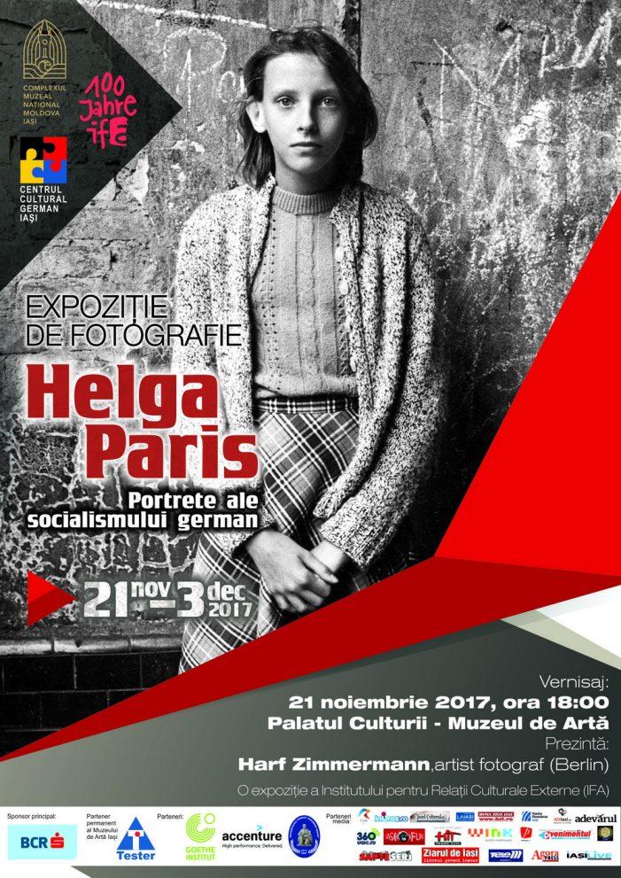 "Expozitie de fotografie ""Helga Paris – Portrete ale socialismului german"""
