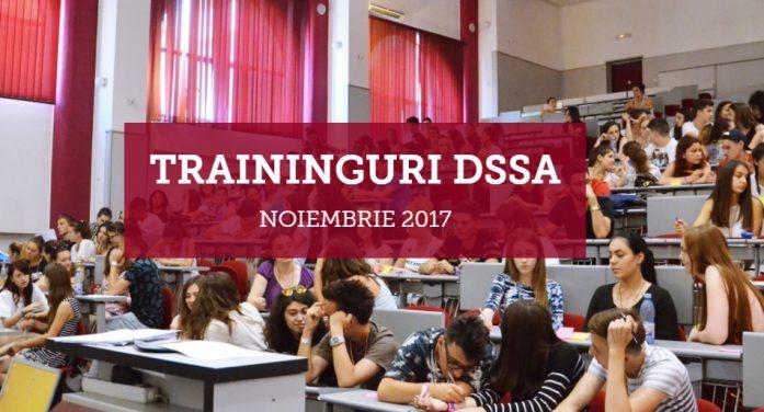 DSSA continuă seria trainingurilor gratuite pentru studenți