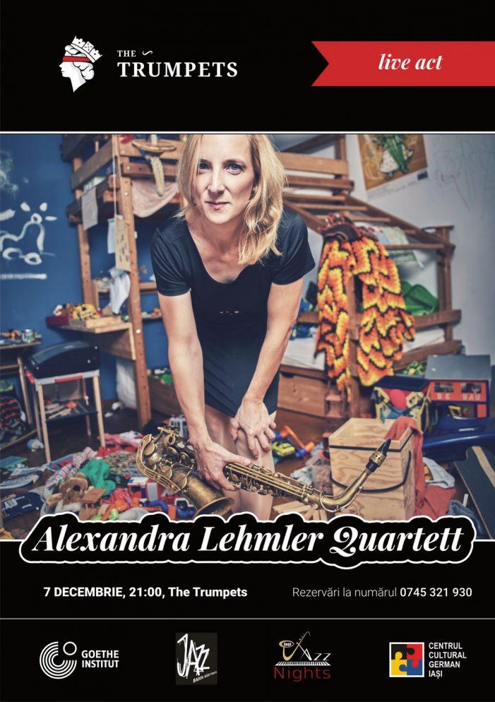 "Concert de jazz cu ""Alexandra Lehmler Quartett"" (Germania)"