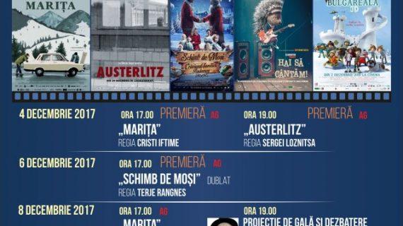 Programul Cinema Ateneu în săptămâna 4 – 10 decembrie 2017