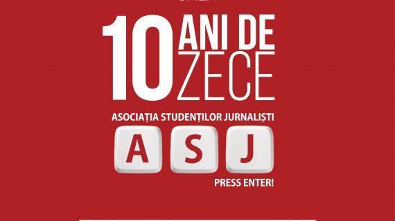 Asociația Studenților Jurnaliști din Iași sărbătorește un deceniu de activitate