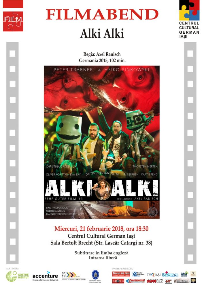 "Seara de film german ""Alki Alki"" (Germania, 2015)"