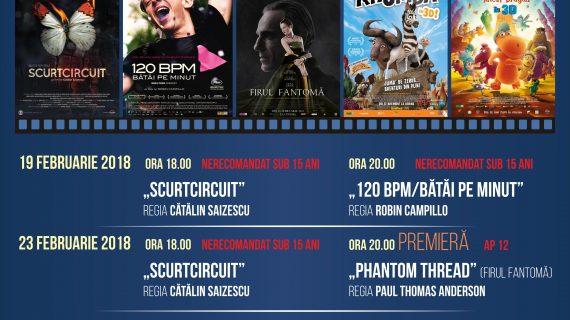 Program Cinema Ateneu 19-25 feb 2018