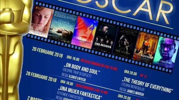 Săptămâna filmelor de Oscar la Cinema Ateneu