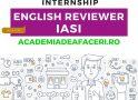 Internship de limba engleză – English Reviewer la Academia Britanică de Afaceri și Comunicare