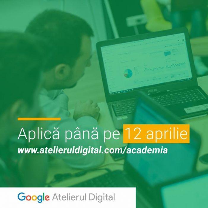 Google România lansează a patra ediție a Academiei Atelierul Digital