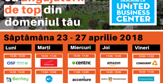 Săptămâna Porților Deschise la United Business Center Iași