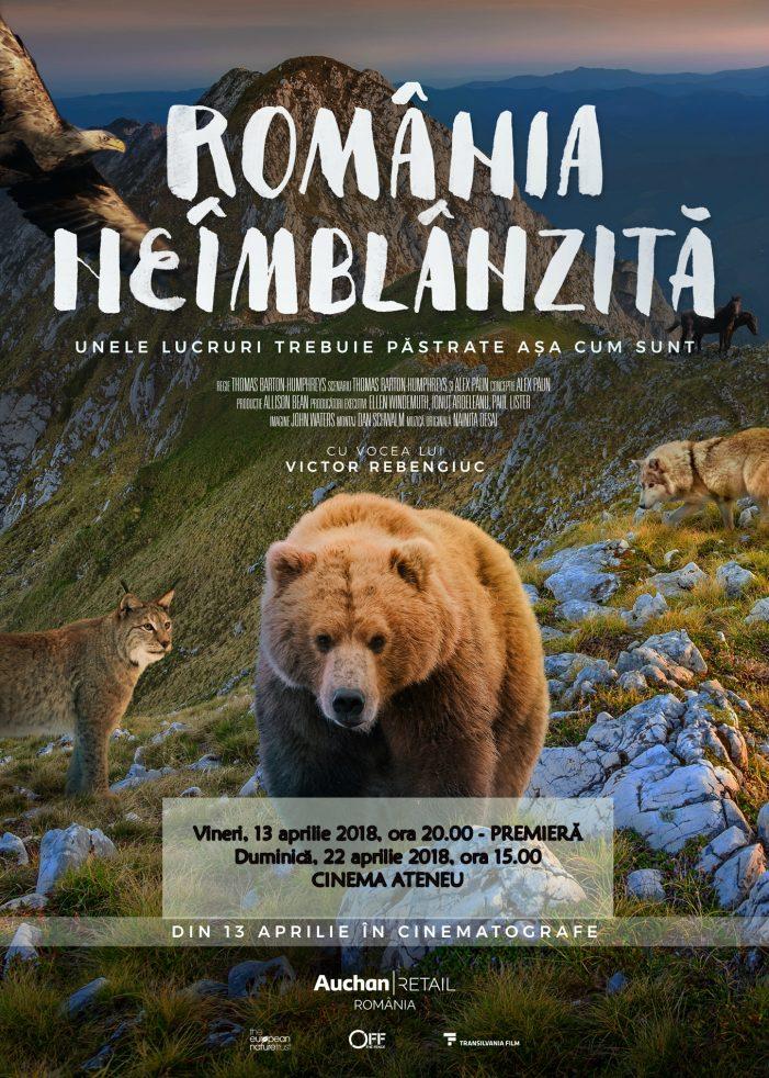"""Premiera documentarului """"România neîmblânzită"""" la Cinema Ateneu"""